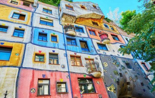 Maison Hundertwasser à Vienne