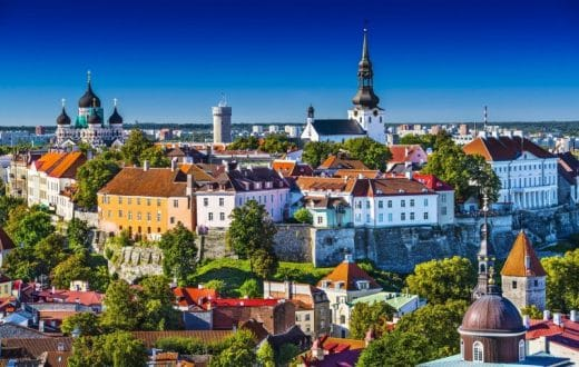 La ville de Tallinn