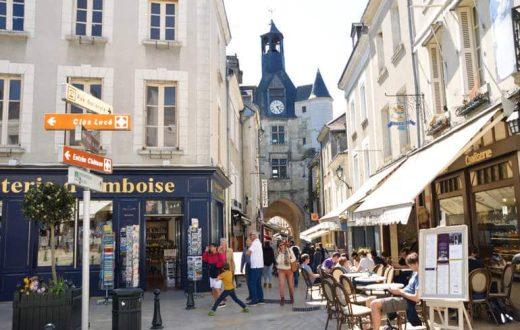 La ville d'Amboise