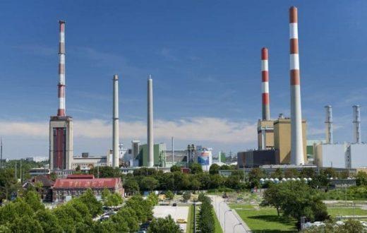 La centrale électrique de Simmering (Vienne)