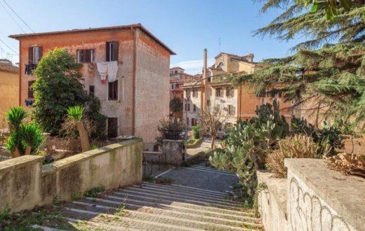 Le quartier de Garbatella ou la cité-jardin (Rome)