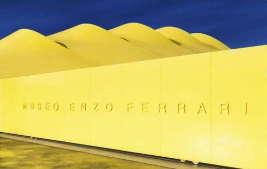 Le musée Enzo Ferrari (à Modena)