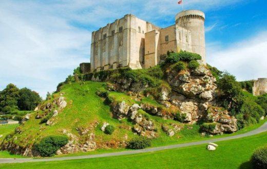 Le château de Guillaume-le-Conquérant à Falaise